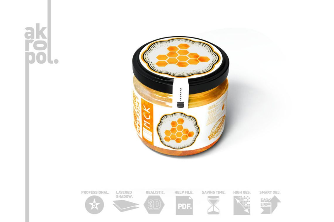 Download Peanut Butter Mockup Yellowimages