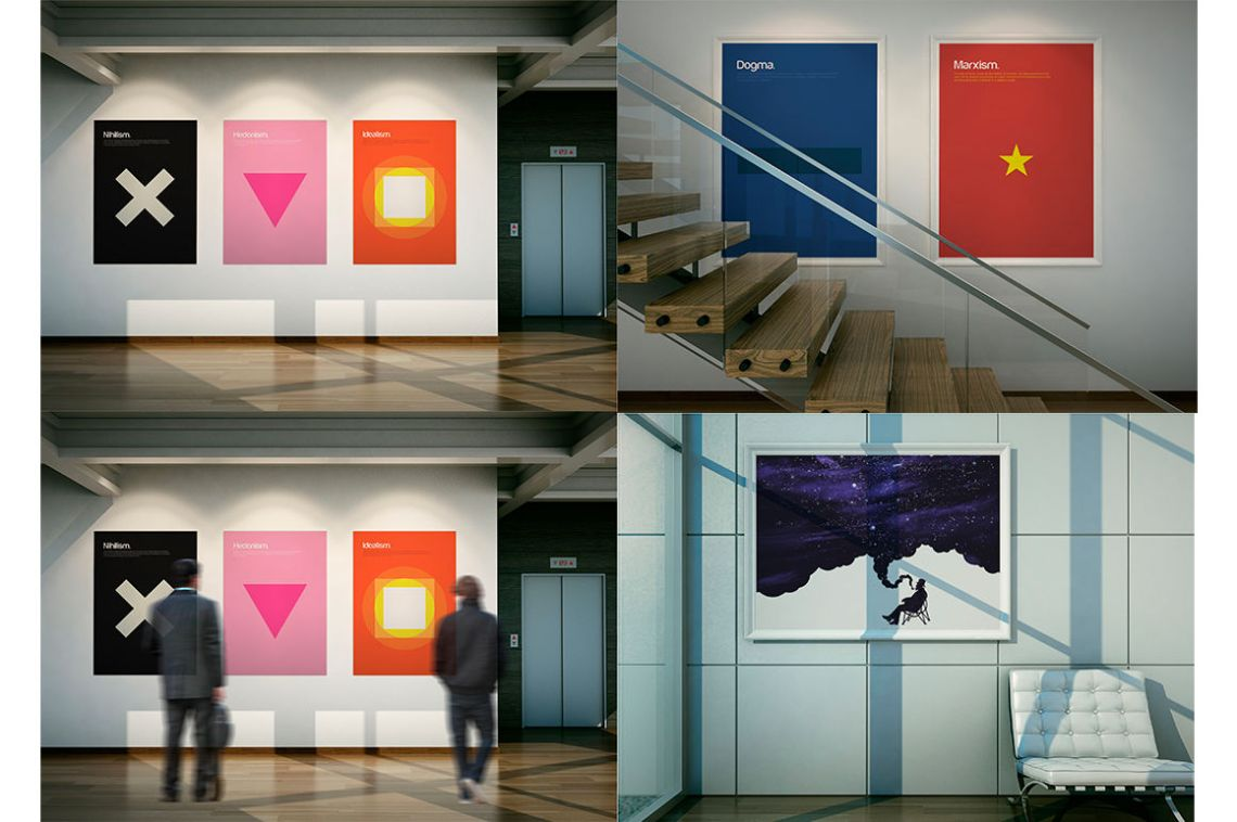 Download Museum Mockup Psd Yellowimages