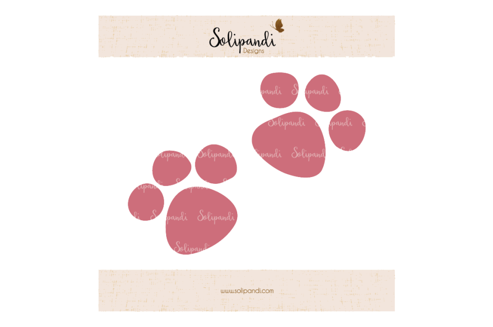 medium resolution of cat paws svg and dxf cut files for cricut silhouette die cut machines scrapbooking paper crafts solipandi 171