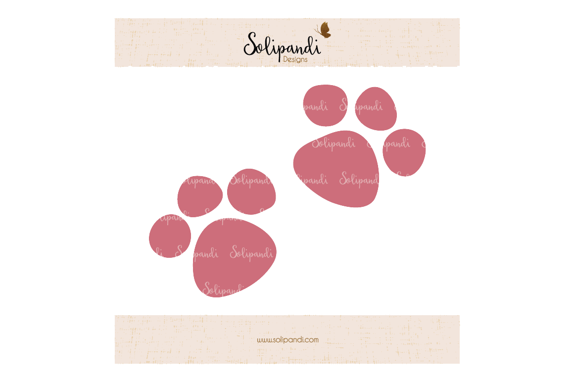hight resolution of cat paws svg and dxf cut files for cricut silhouette die cut machines scrapbooking paper crafts solipandi 171