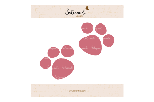 small resolution of cat paws svg and dxf cut files for cricut silhouette die cut machines scrapbooking paper crafts solipandi 171