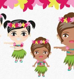 tropical party summer clipart luau clipart aloha hula  [ 1160 x 772 Pixel ]