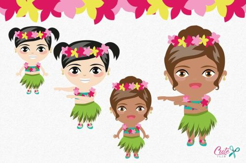 small resolution of  tropical party summer clipart luau clipart aloha hula
