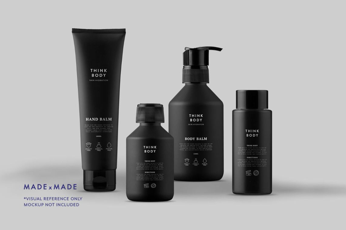 Download Cosmetic Bottle Mockup Psd Free Yellowimages
