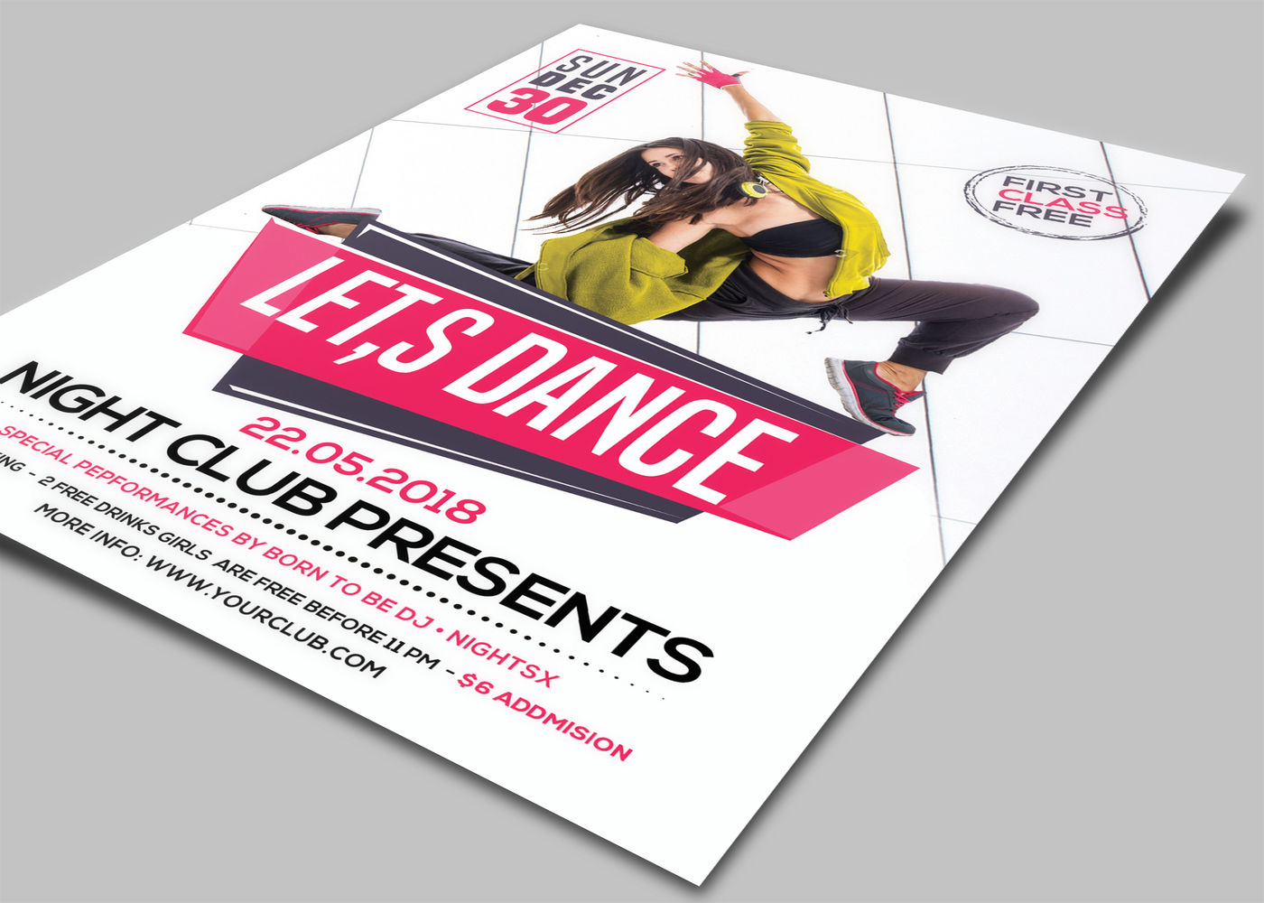 dance flyers by afzaal