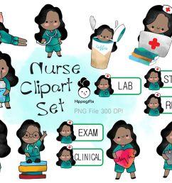 african american nurse clipart [ 1160 x 772 Pixel ]