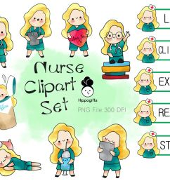 blonde hair nurse clipart [ 1160 x 772 Pixel ]