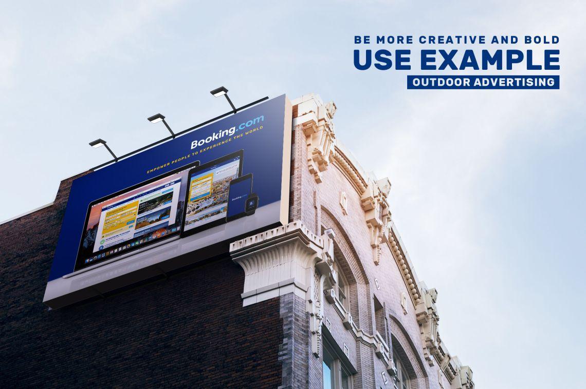 Download Airport Billboard Mockup Free Yellowimages