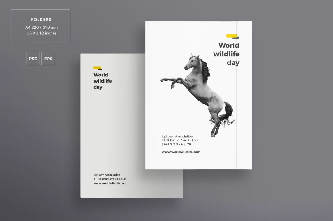 Download A5 Brochure Mockup Psd Yellowimages