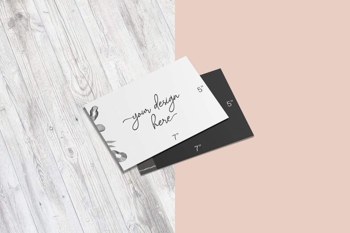 Download Free Postcard Psd Mockup Yellowimages