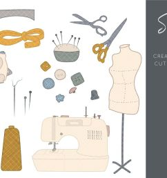 sewing clipart sewing machine clipart crafts clipart sewing  [ 1160 x 772 Pixel ]
