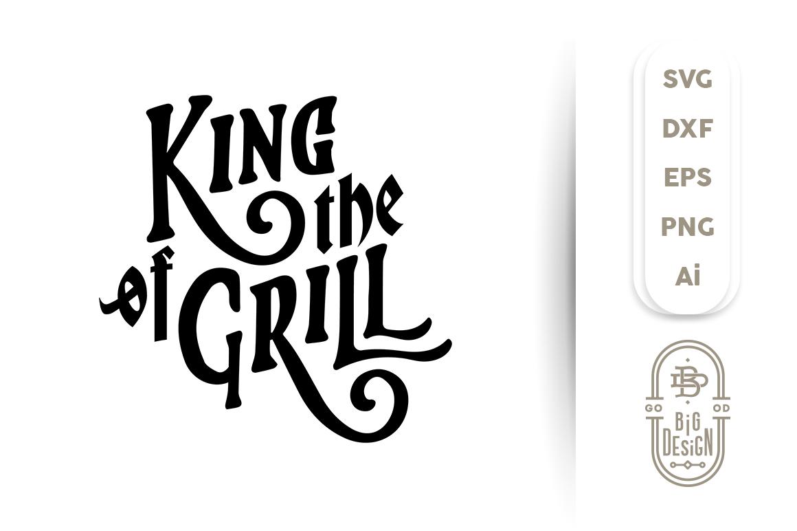 svg cut file king
