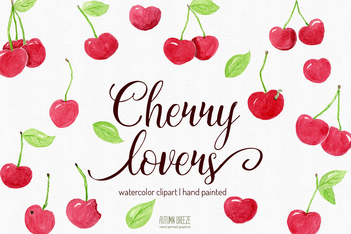 hight resolution of  watercolor cherry clipart
