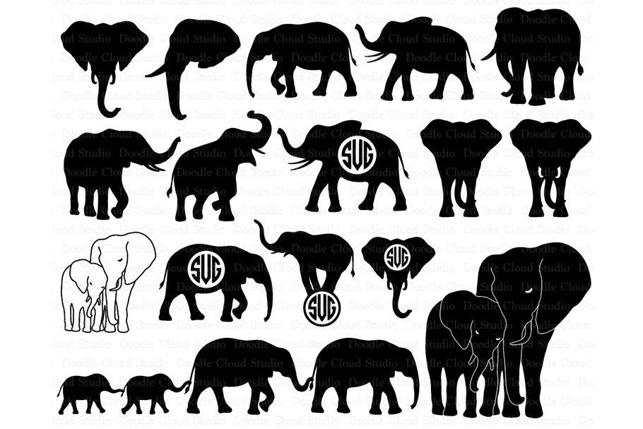 Download Cricut Free Elephant Svg | suryadillaga