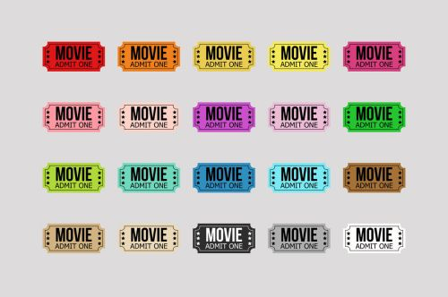 small resolution of  movie ticket clipart circus ticket carnival ticket theater