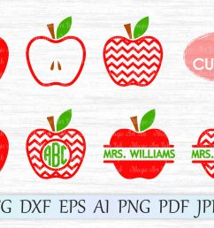 apple svg apple cut file chevron apple svg back to school clipart by magicartlab thehungryjpeg com [ 1400 x 931 Pixel ]