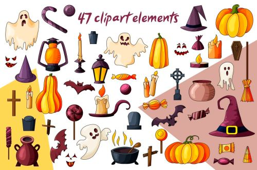 small resolution of  spooky halloween clipart