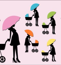 pregnant woman baby carriage clipart mom to be  [ 1400 x 933 Pixel ]