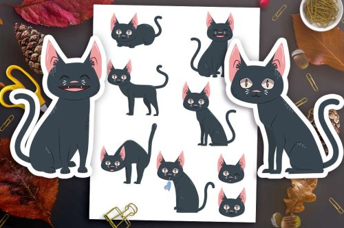 small resolution of  black cat clipart halloween clipart halloween graphics