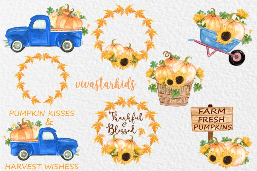 medium resolution of  pumpkin truck clipart thanksgiving clipart fall clipart