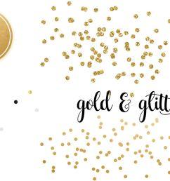 golden confetti clipart overlays [ 1400 x 933 Pixel ]