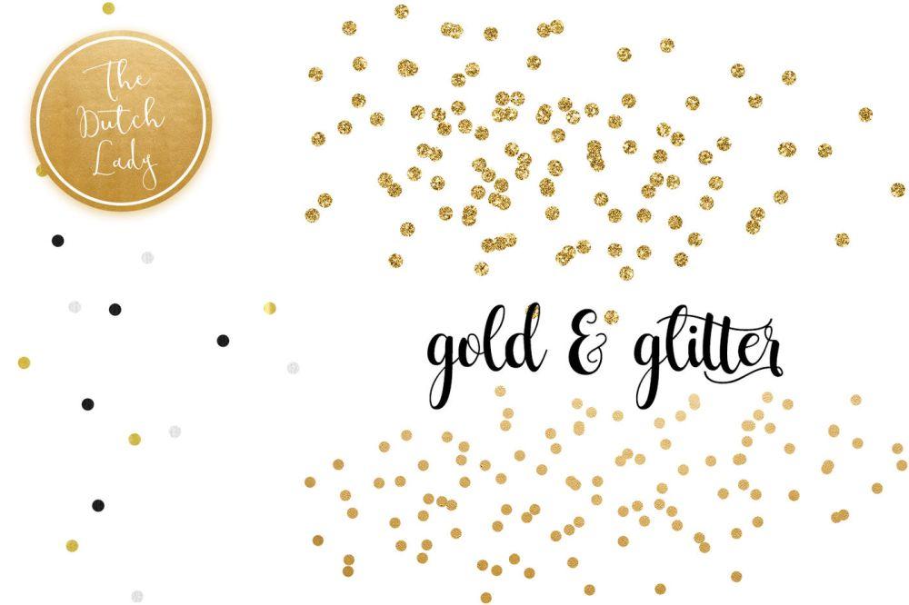 medium resolution of  golden confetti clipart overlays