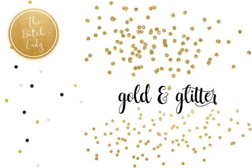 small resolution of  golden confetti clipart overlays