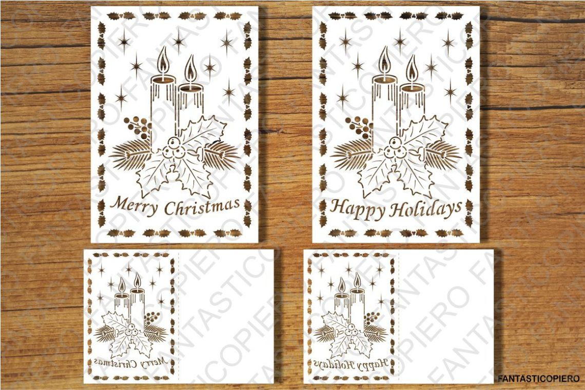 Download Merry Christmas, Greeting Card SVG files for Silhouette ...