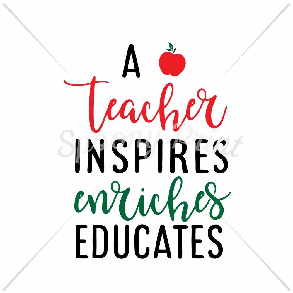 a teacher inspire by