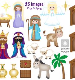 christmas nativity clipart nativity scene graphics amp illustrations [ 1161 x 773 Pixel ]