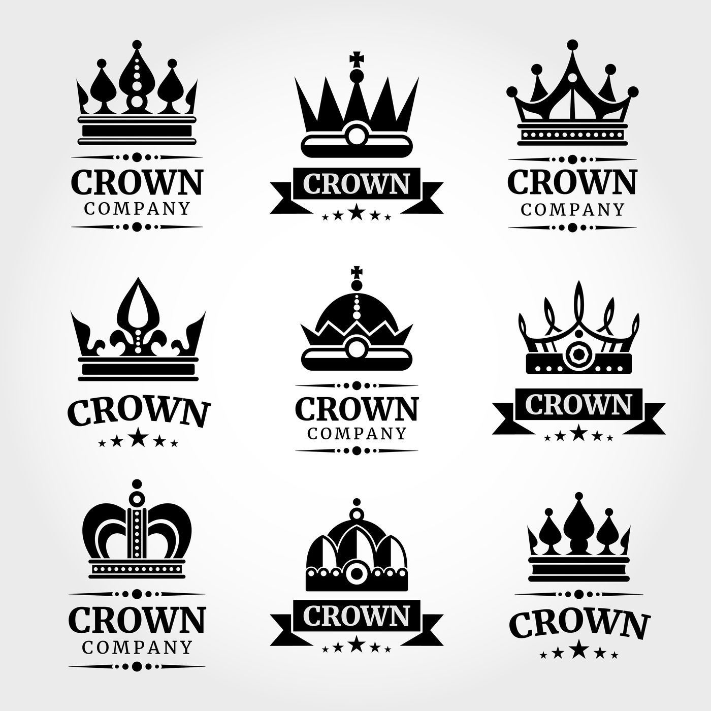 logos with crowns