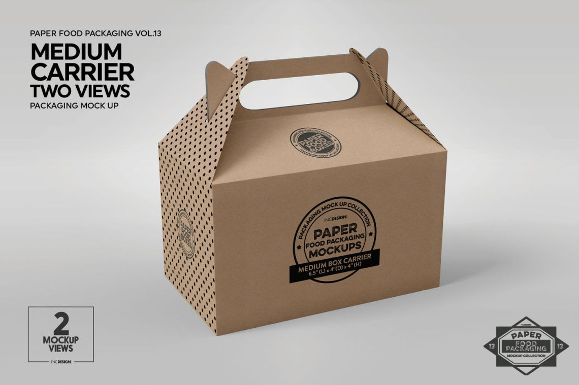 Download Box 6 Matte Bags Mockup Yellowimages