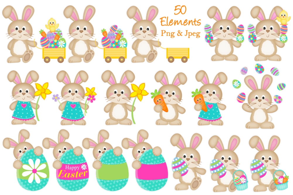 medium resolution of  easter clipart easter graphics and illustrations easter bunny
