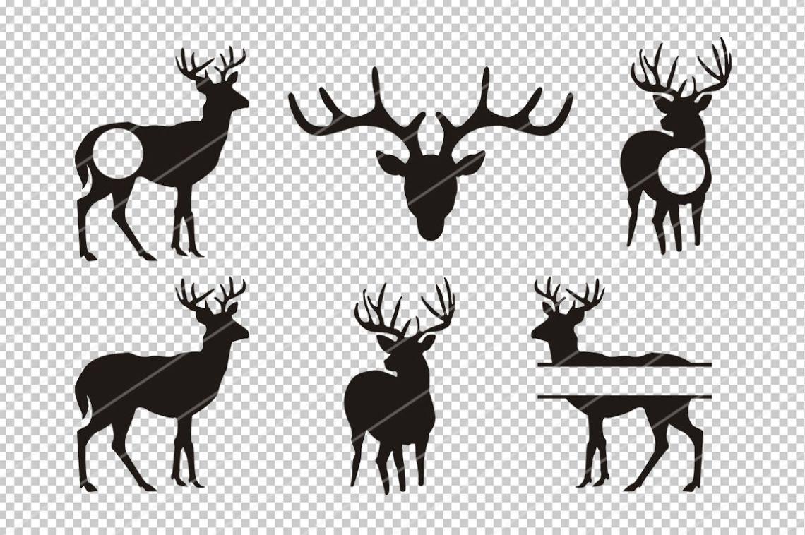 Download Deer svg,Reindeer svg,Cricut files,silhouette cameo ...