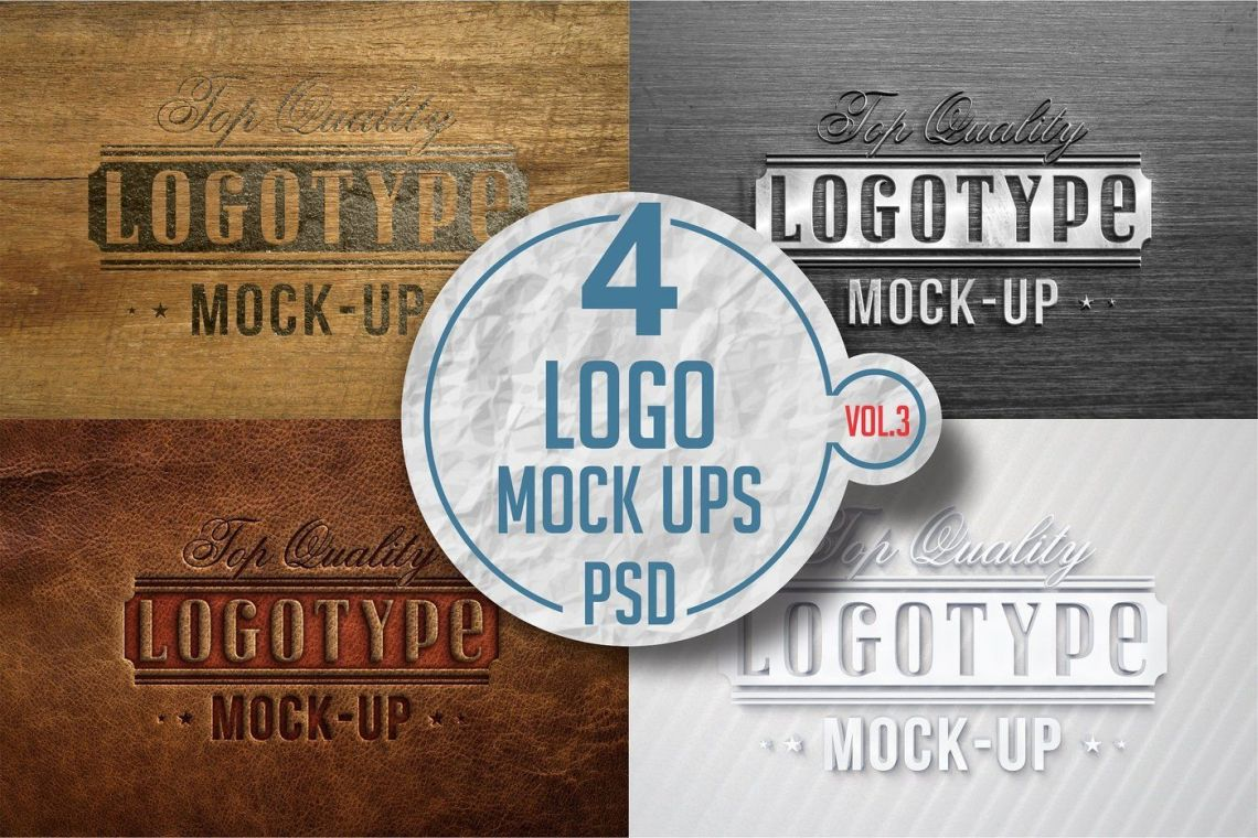 Download Realistic 3d Logo Mockup Psd Yellowimages