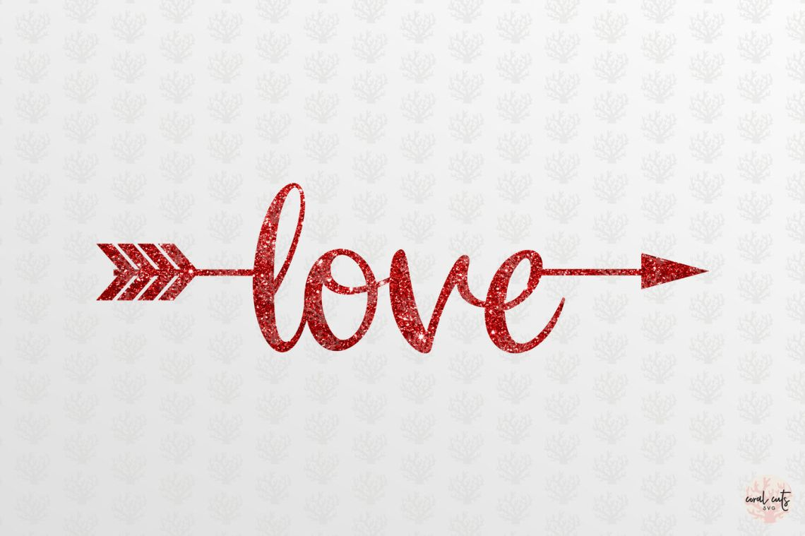 Download Love Arrow - Love SVG EPS DXF PNG By CoralCuts ...