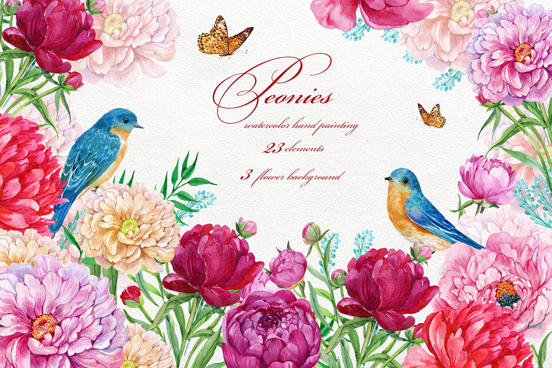 hight resolution of wedding clipart hand painted