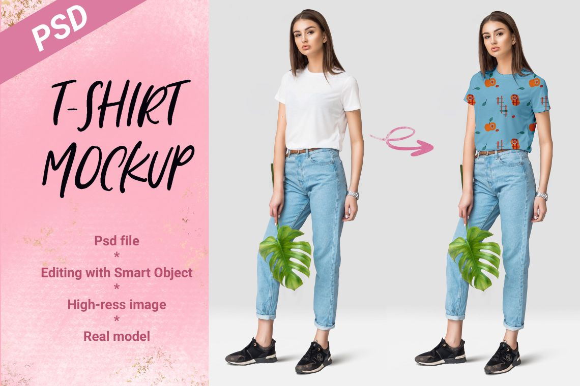 Download High Resolution T Shirt Mockup Front And Back Psd Free Yellowimages