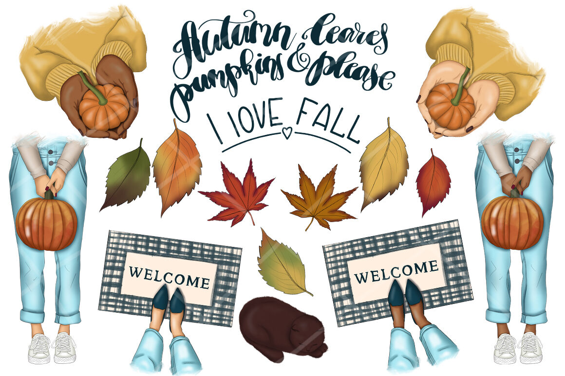 hight resolution of  falling into fall clipart amp patterns