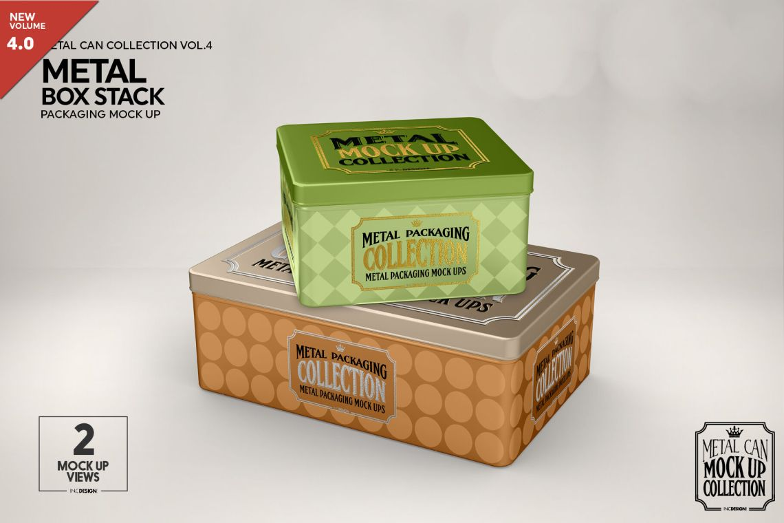 Download Kraft Box With Matte Can Mockup Yellowimages