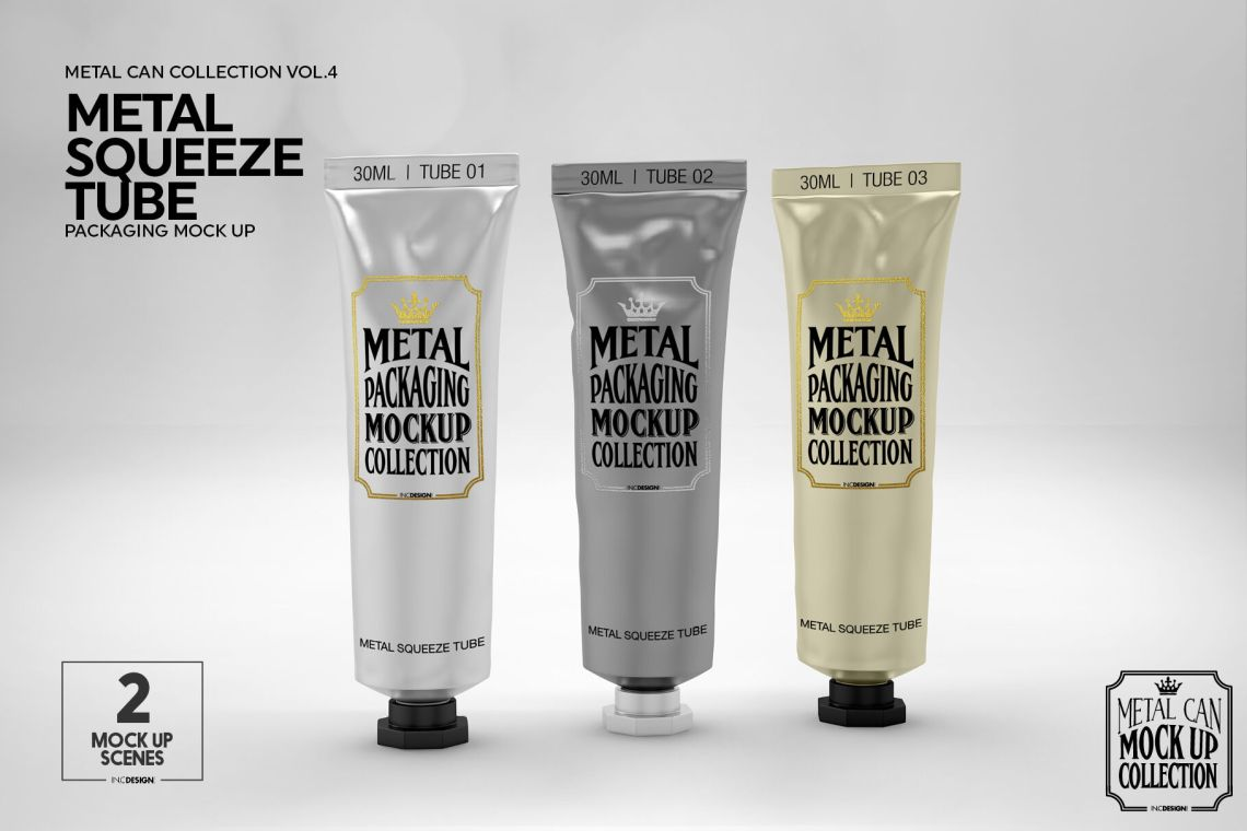 Download Free Psd Cream Tube Mockup Yellowimages