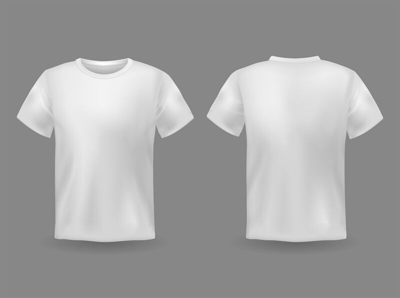 Download T Shirt Mockup Back Psd Yellow Images