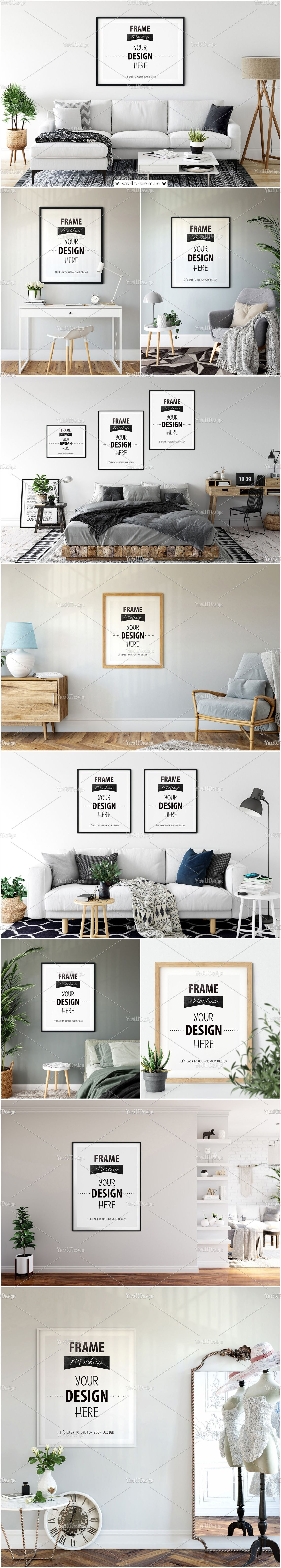Download Living Room Mockup Psd Free Yellow Images