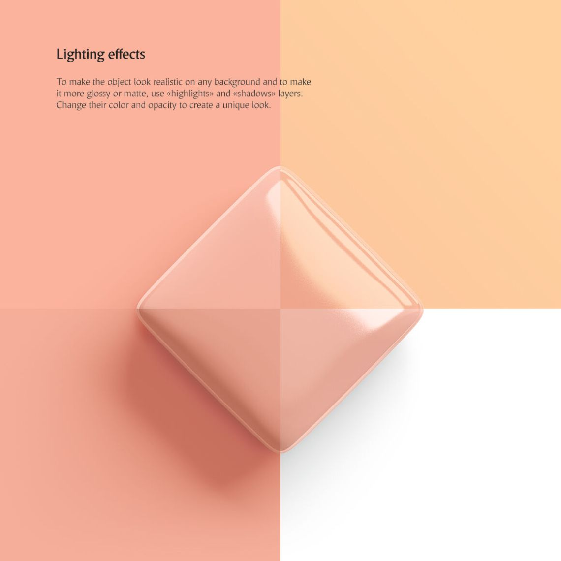Download Glossy Pack With Orange Soap Mockup Yellowimages