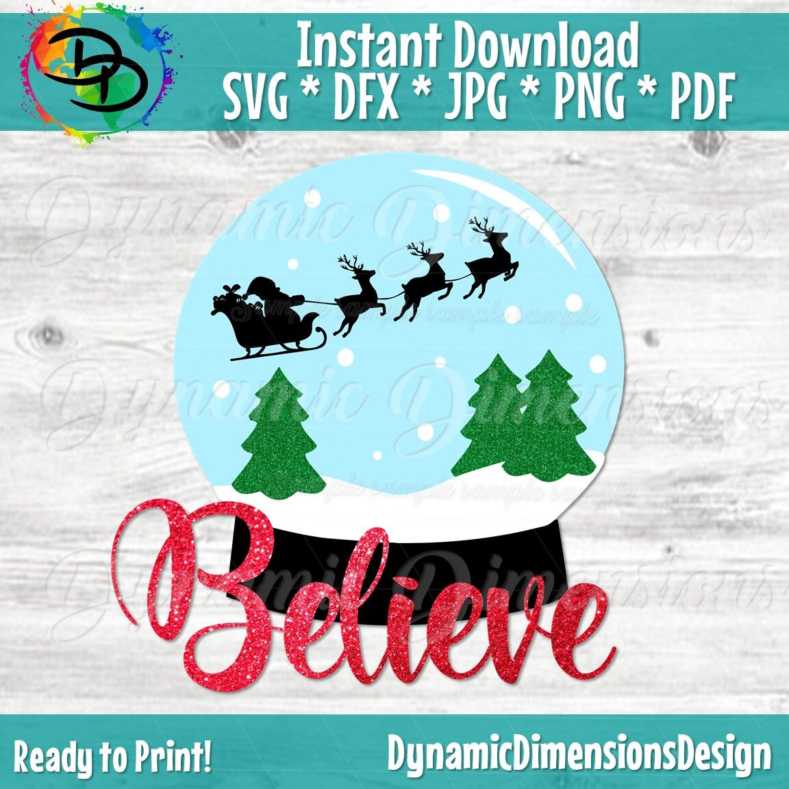Simply add to your cart and you will be automatically emailed a file to download and use free of charge. Believe Svg Snowglobe Svg Christmas Tree Snow Santa Svg Christmas By Dynamic Dimensions Thehungryjpeg Com