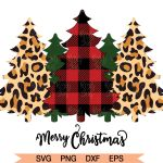 Christmas Tree Svg Buffalo Plaid Trees Svg Christmas Svg By Lovely Graphics Thehungryjpeg Com