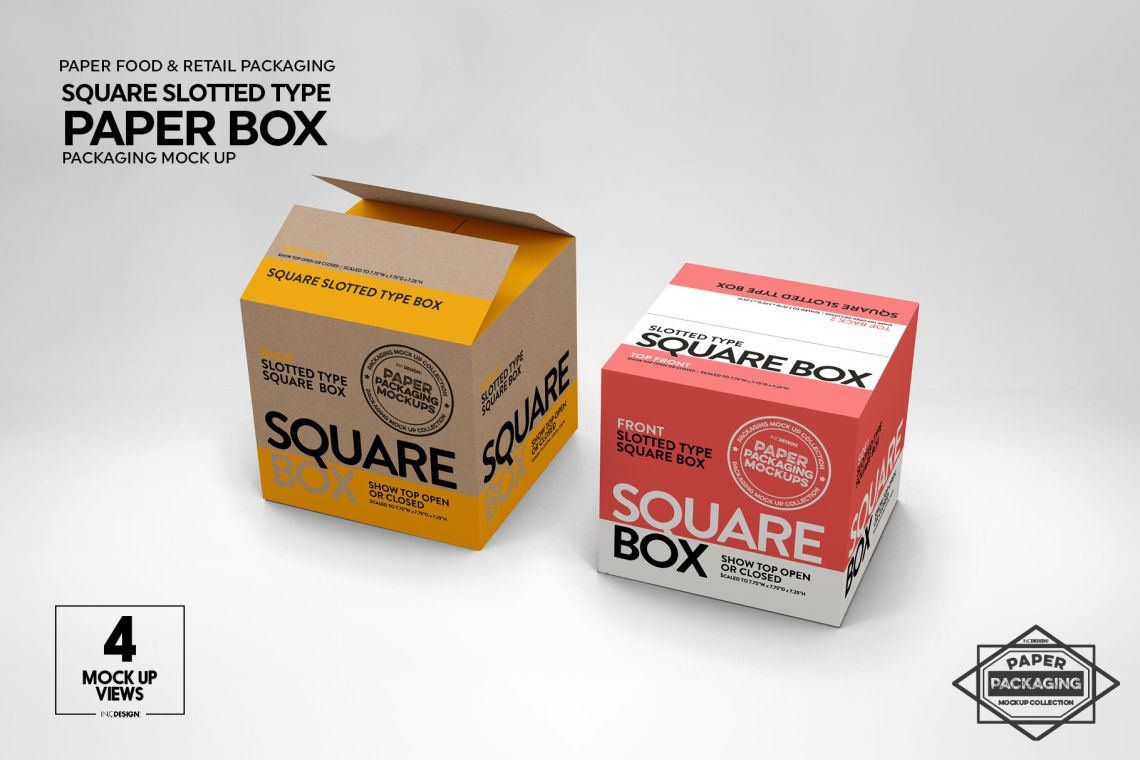 Download Square Box Psd Mockup Yellowimages