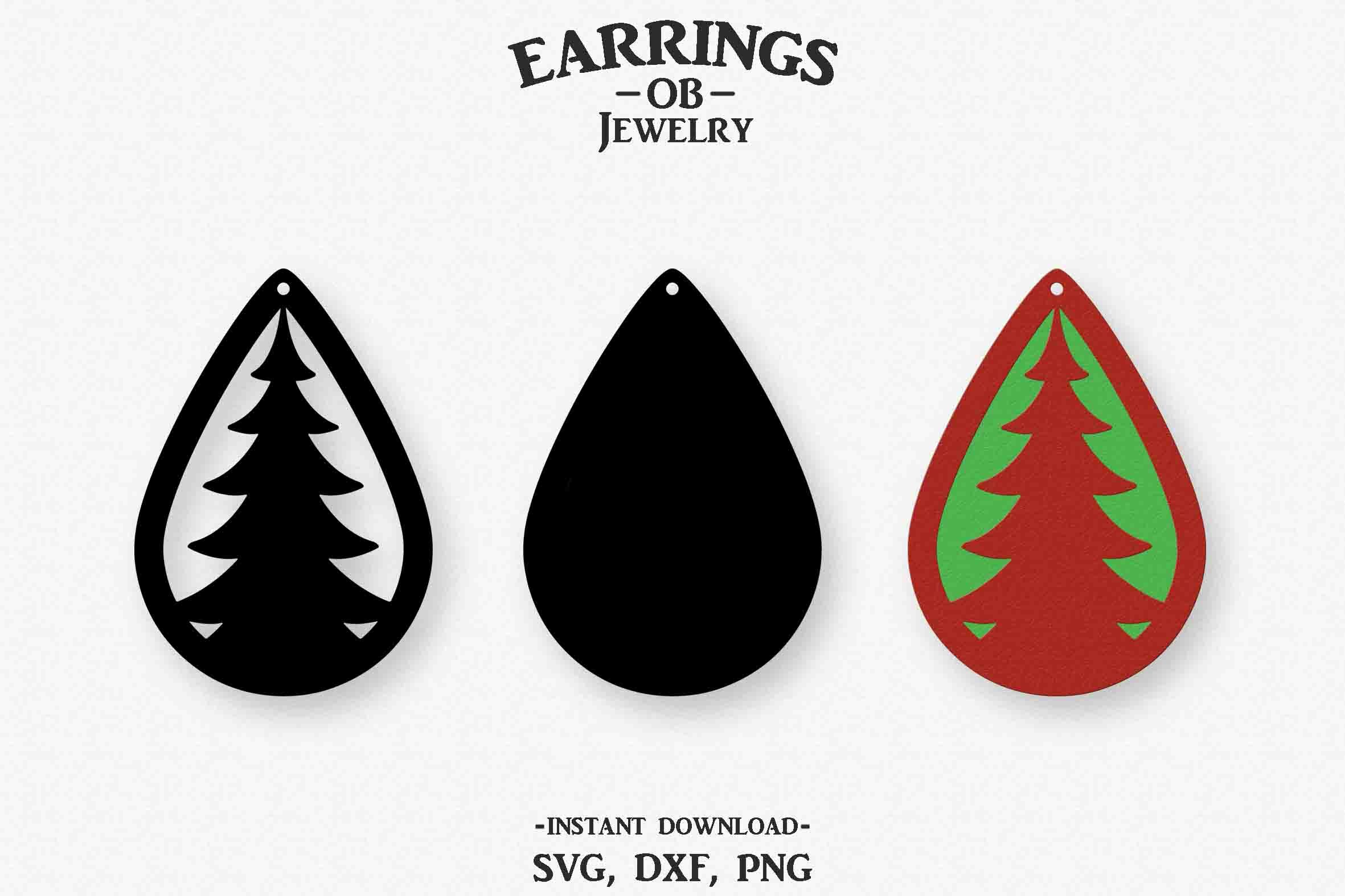 We may earn commission from links on this page, but we only recommend products we back. Christmas Tree Earrings Svg Free