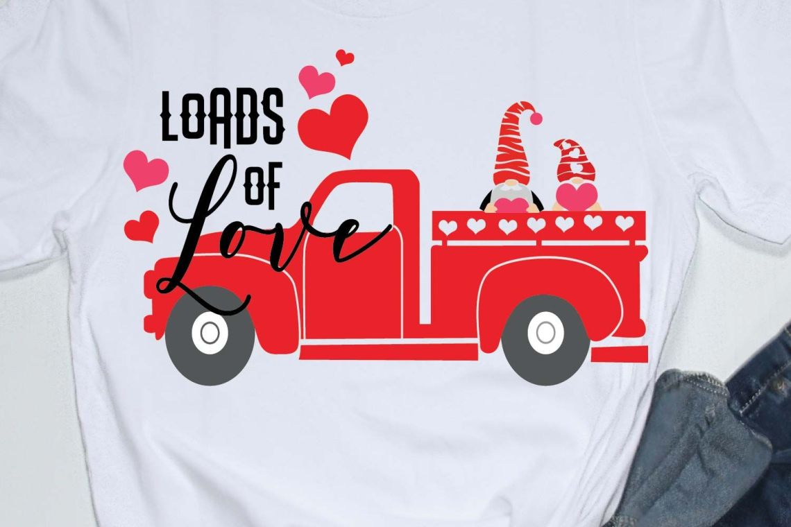 Download Happy valentines day quote svg, loads of love,truck ...