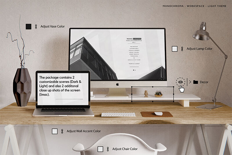 Download Psd Mockup Imac Yellow Images